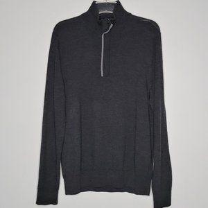 Banana Republic Merino Wool 1/4 Zip Pullover Sweater